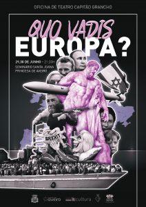 Teatro - Europa, Europa @ Seminário de Santa Joana Princesa - Aveiro