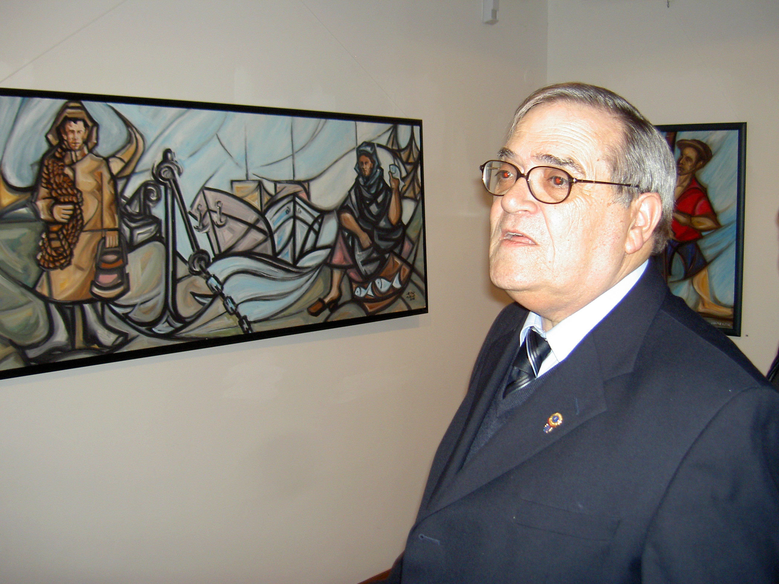 Aveirense ilustre – Gaspar Albino, artista plástico e empresário