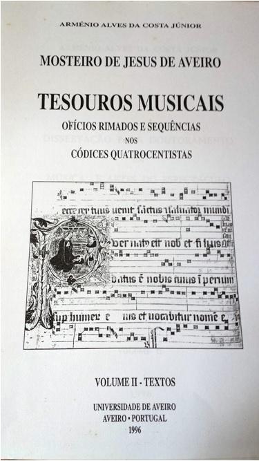 Padre Arménio – Músico. A sua relação com os órgãos de Aveiro[15]