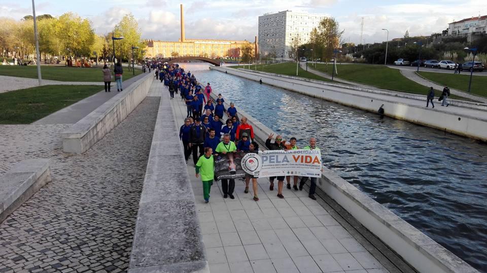 1ª caminhada solidária pela Vida – 2017