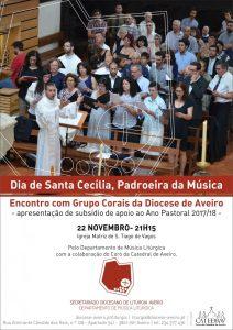 APRESENTAÇÃO DE SUBSÍDIO MUSICAL ESPECIALMENTE DEDICADO À CARIDADE E À EUCARISTIA @   Igreja Matriz de S. Tiago de Vagos