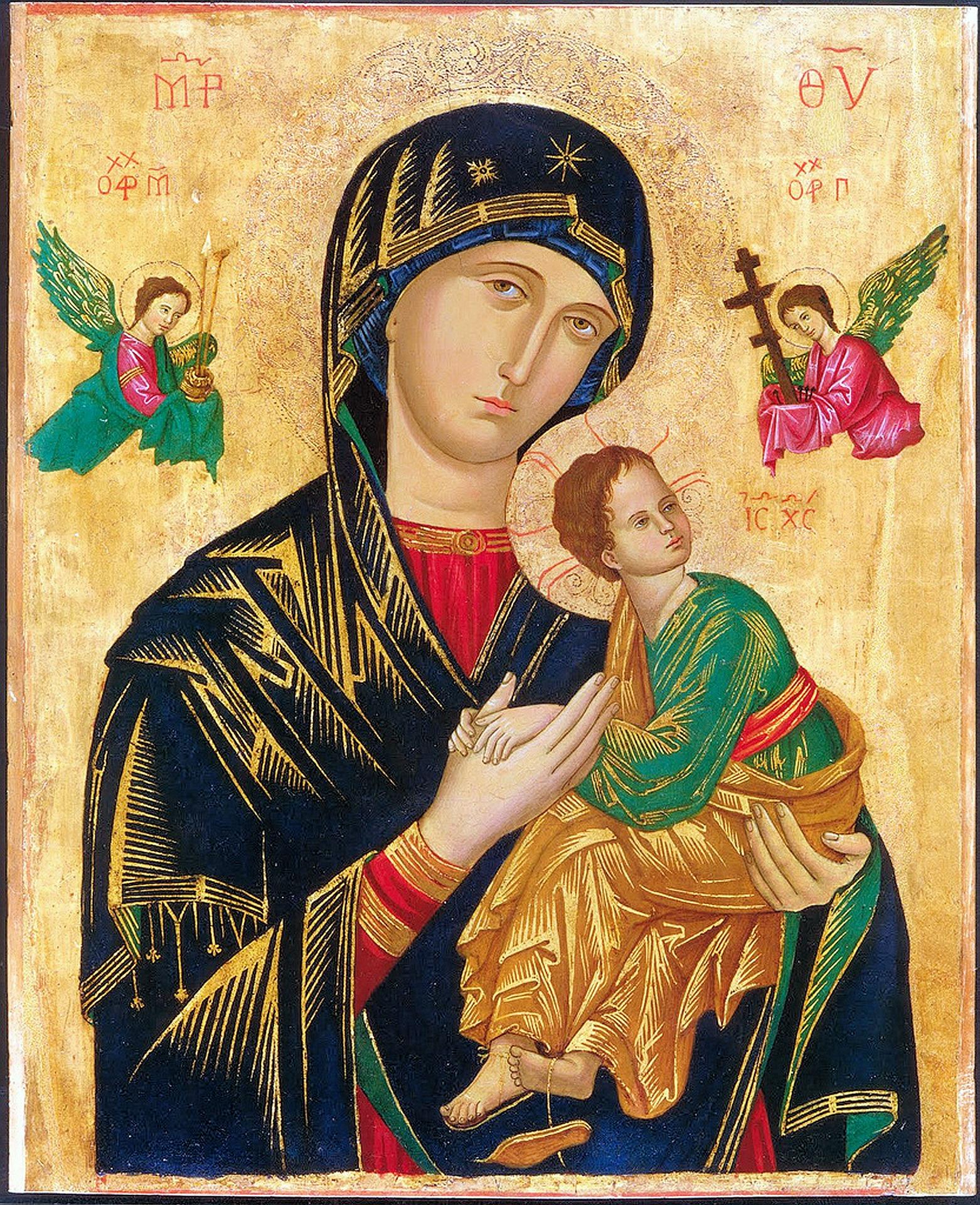 Em Jesus, Deus tem mãe