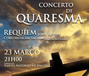 CONCERTO DE QUARESMA @ Igreja de Santo António de Vagos