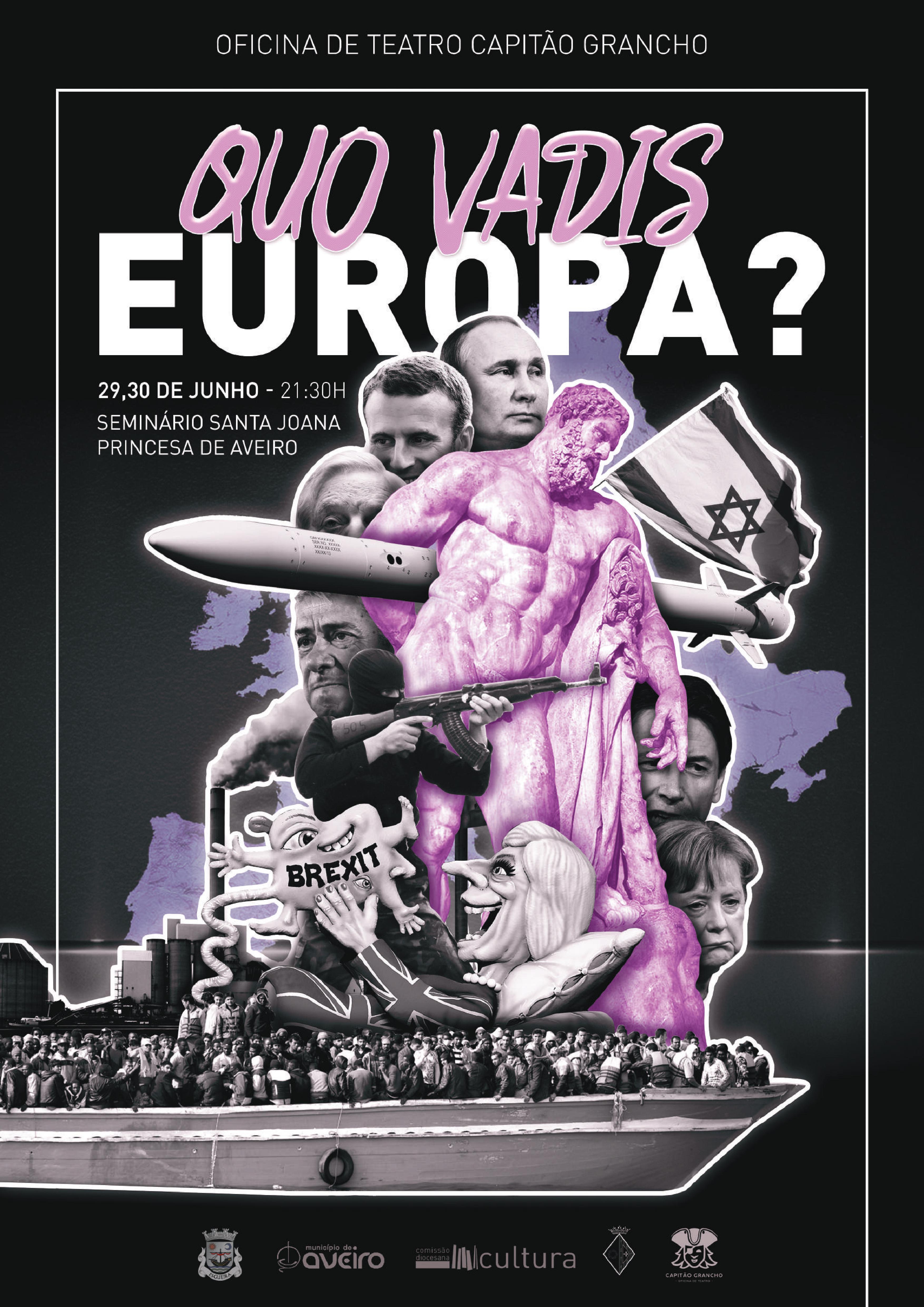 Teatro: 'Quo vadis, Europa?'