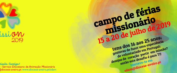 """Campo de Férias """"MissiOn 2019"""""""