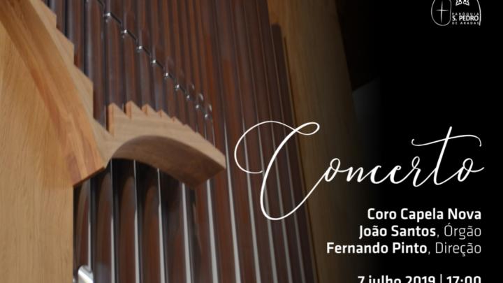 Atividade | Concerto na Igreja de S. Pedro de Aradas [Aveiro] – 7 de julho – 17.00h.
