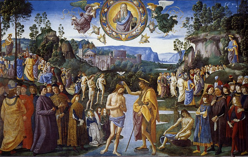 800px-Pietro_Perugino_-_Baptism_of_Christ_-_Sistine_Chapel_-_cat13a