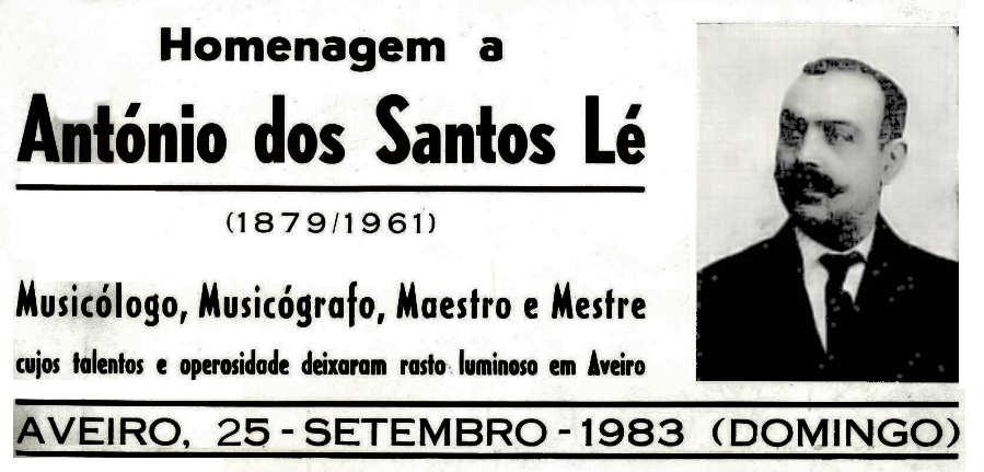 António dos Santos Lé