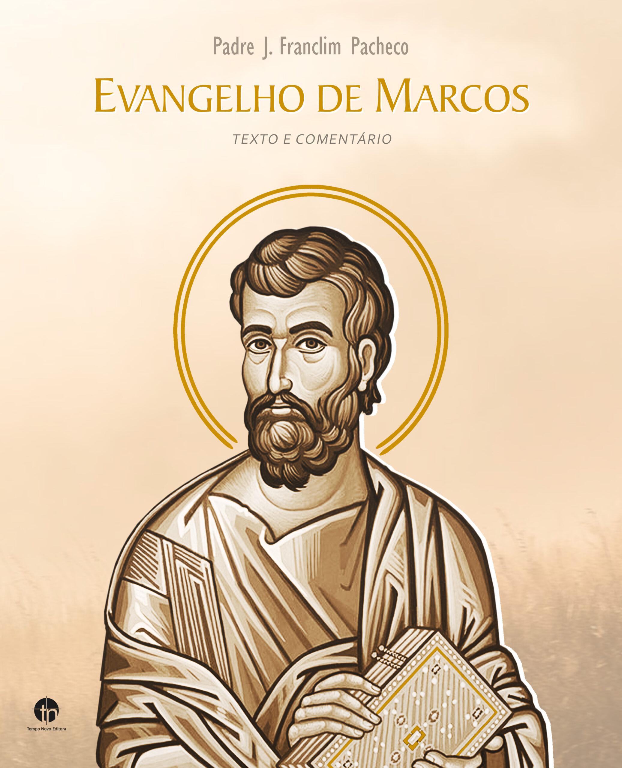 ilustração da CAPA DO LIVRO_Evangelho São Marcos_P.FRANCLIM