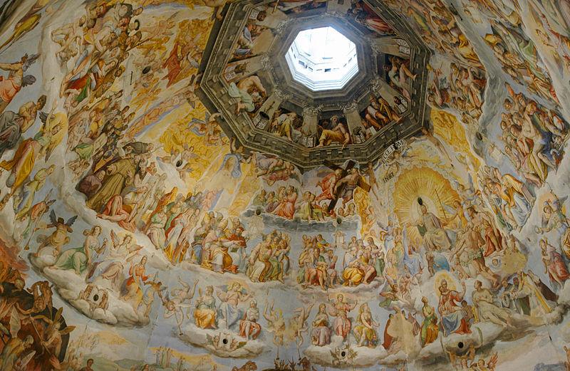 800px-Frescos_inside_the_dome_of_Santa_Maria_del_Fiore_-_1038