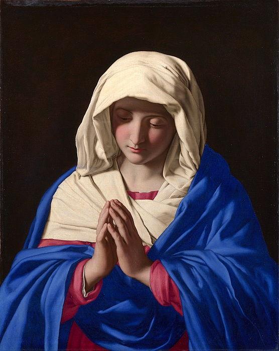 Giovanni Battista Salvi da Sassoferrato - Virgen rezando - (MeisterDrucke-662318)