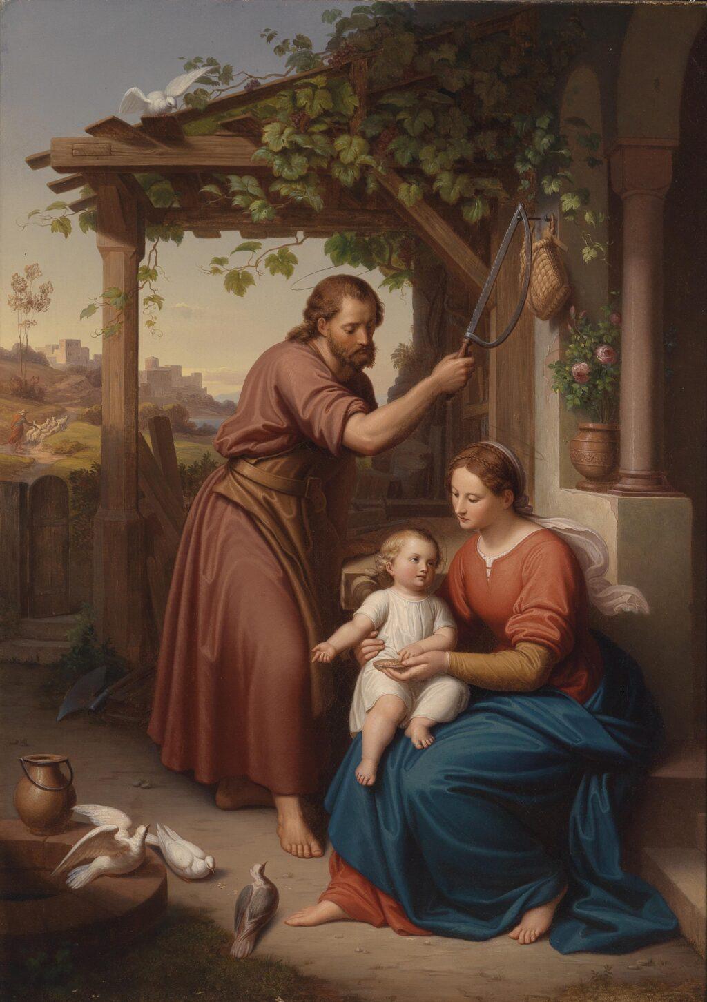 Julius_Frank_Maria_und_Josef_mit_dem_Jesusknaben