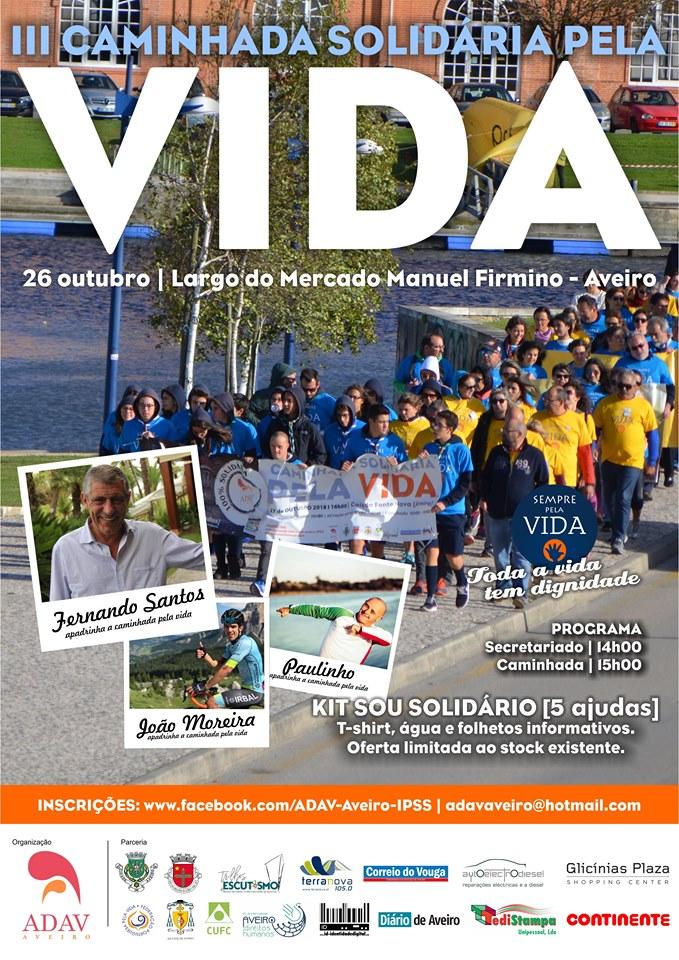 IIIª Caminhada pela Vida - ADAV @ Aveiro