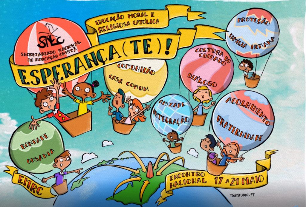 «Esperança(te)»: Escolas desafiadas a mostrar as «razões da Esperança» (C\vídeo)